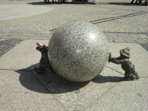 Wroclaw - die Stadt der Zwerge. Foto: kawe