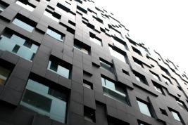 Eines der Gebäude. Foto: kawe